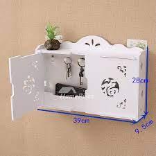key hooks for wall wooden white modern