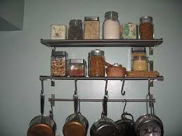 wire shelving kitchen