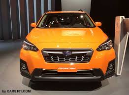 2018 subaru crosstrek orange.  orange 2018 subaru crosstrek sunshine orange color front view ny auto show intended subaru crosstrek