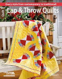 lap  throw quilts  leisureartscom