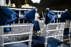 navy blue and silver wedding theme