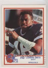 1989 Louis Rich Buffalo Bills Police - [Base] #7 - Leonard Smith