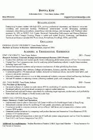 Good Resume Example Enchanting Example Of College Resume Best Resume Collection