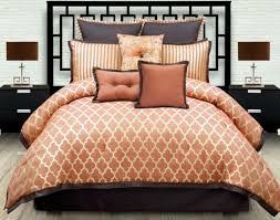 gallery of burnt orange bedding chocolate and comforter set brown better sets fantastic 1