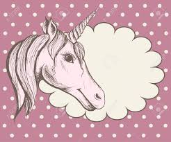 cute hand drawn unicorn vector design for kids graphic t shirt note