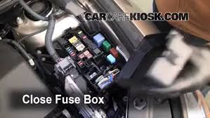 replace a fuse 2006 2012 toyota rav4 2007 toyota rav4 2 4l 4 cyl 2007 Rav4 Fuse Box 6 replace cover secure the cover and test component 2010 rav4 fuse box location