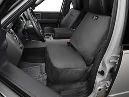 weathertech 10 14 front seat cover black
