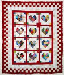 Quilt Inspiration: Free pattern day: Hearts and Valentines & Be Still My Heart quilt tutorial by Jacquie Gering at Tallgrass Prairie  Studio Adamdwight.com