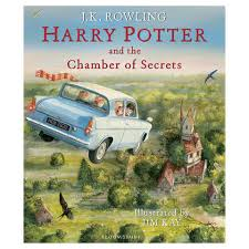 harry potter and the chamber of secrets ilrated edition by j k rowling book