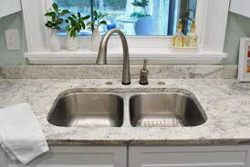 filling those sink holes in granite counters for soap dispensers young house love