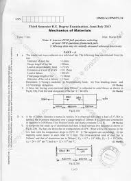 3rd Semester Mechanical Engineering (2013-June) Question Papers