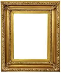 vintage gold picture frames scoop design antique gold frame
