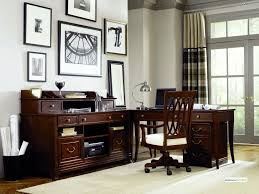 home office decor brown simple. Modern Traditional English Decorating Home Office Design Ideas With L Shape Secretary Table Desk Furniture Executive Wooden Decor Brown Simple K