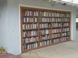 hollywood garage doorsDriveBy Design A garage library Well sort of   LA at