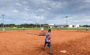 July softball