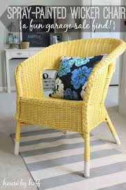 house by hoff 30 thursday a spray painted wicker chair