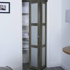 stained glass bifold closet doors 3 lite 2 panel wood bi fold interior door frosted glass