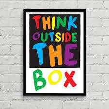 outside the box office. Modren Outside Image Is Loading ThinkOutsideTheBoxPosterCreativePrintMotivational Throughout Outside The Box Office