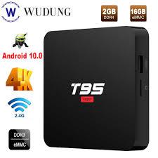 <b>T95 Super</b> Android 10.0 Smart TV Box <b>Allwinner H3</b> 2.4G Wifi ...