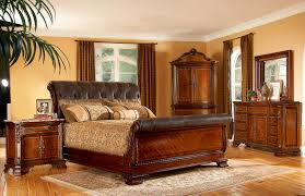 Sleigh Bed Bedroom Furniture King Sleigh Bed Bedroom Sets Vatanaskicom 14 May 17 054720