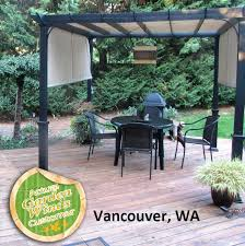 garden arbor lowes. Garden Arbor Lowes Thumb Treasures Ft Pergola Replacement Canopy S J Wood O