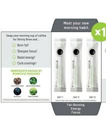 Skinny brew it works contains high amounts of caffeine and other stimulants, and should not be taken if you are pregnant or nursing. It Works Skinny Brew Coffee Samples 15 For A 3 Day Trial Pack 15 00 Picclick