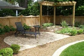 Small Picture Brilliant Landscape Ideas For Backyard On A Budget Backyard