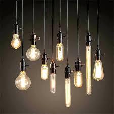 bulb pendant lighting lights