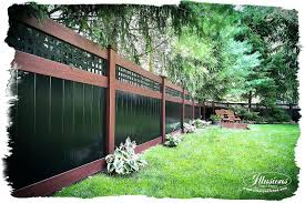 black vinyl privacy fence. Black Pvc Fence Rosewood And Vinyl Privacy As .