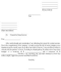 Request For Pay Raise Raise Request Template With To Frame Cool Pay Increase Letter Templa