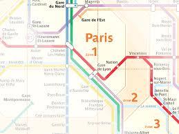 Rer Chart Paris Transportation Zone Map Paris By Train