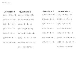 solving one and two step equations worksheets a multi step equations worksheet variables on both sides