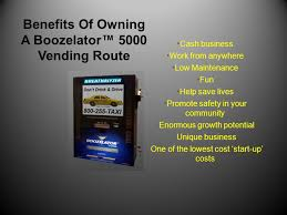 Breathalyzer Vending Machine Business Beauteous The Boozelator™ 48 Breathalyzer Vending Business By Blo Dad Sons