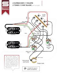 of pickups seymour duncan part 20 2 Humbucker 1 Volume Wiring 2 hum, 1 volume, 2 tone, 5 way blade with coil split wiring diagram 2 humbucker 2 volume 1 tone