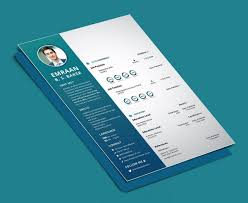 Indesign Modern Resume 033 Creative And Professional Resume Cv Free Psd Template