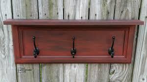 Door Coat Rack Cabinet Door Coat Rack 50