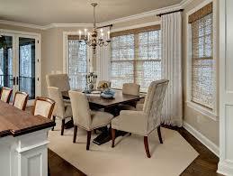 traditional living room window treatments. Fine Room BayWindowCurtainRodsDiningRoomTraditionalWith To Traditional Living Room Window Treatments M
