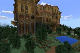 Case Piccole Minecraft : Minecraft pe maps herobrine mansion creation
