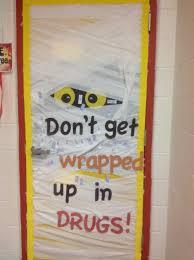halloween door decorating ideas for teachers. Drug Free Door Decoration Contest Dr Garza Elementary School Halloween Decorating Ideas For Teachers O