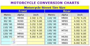 Motorcycle Tire Comparison Chart Motorcycle Tire Size Comparison Calculator Disrespect1st Com