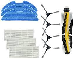 Experobot Accessories - <b>3</b> Mopping Clothes, <b>3</b> Hepa <b>Filter</b>, <b>4 Side</b> ...