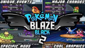 Pokemon Blaze Black 2 - (Completed)   Rom Hack With Specific Mods,Major  Changes & Much More! - YouTube