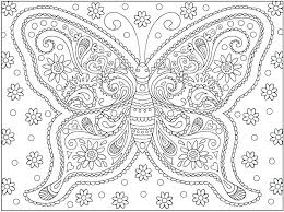 Butterflies Coloring Pages Butterfly Coloring Pages Page For