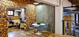 cool office photos. The Portland, Oregon, Office Of Parliament Has More Logs Than A Cabin. It Also Features Plenty Raw Concrete, Huge Open Worktables, Cool Photos