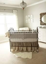 gold baby nursery