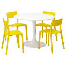 white chairs ikea office chairs set. IKEA DOCKSTA/JANINGE Table And 4 Chairs White Ikea Office Set M