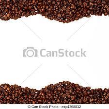 coffee beans border. Beautiful Beans Coffee Bean Border  Csp4368832 Intended Beans E