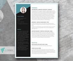 Modern Looking Resume Template Free Modern Job Winning Cv Resume Template In Minimal Style