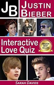 Small Picture Justin Bieber JB Interactive Love Quiz Interactive Quiz Books