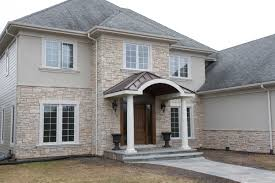 Stone Veneer and Stucco